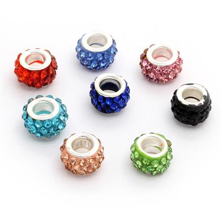 PACK X 10: DONAS STRASS 10MM