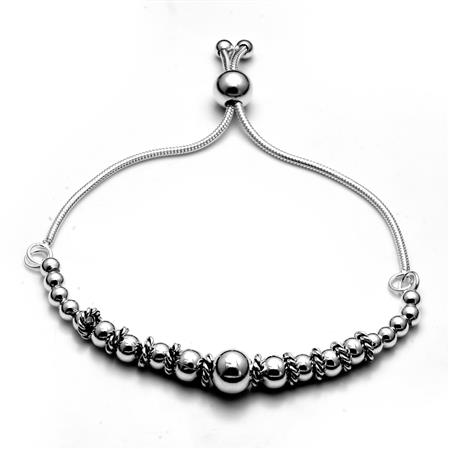 PULSERA BALI 4 A 8MM - REGULABLE