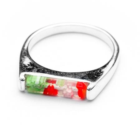 ANILLO RECTANGULAR MURANO